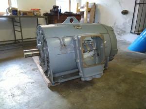 Generátor 75 kW, MVE Martínkovice 2