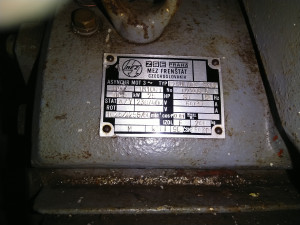 Gener. 18,5 kW,  MVE Otovice 1